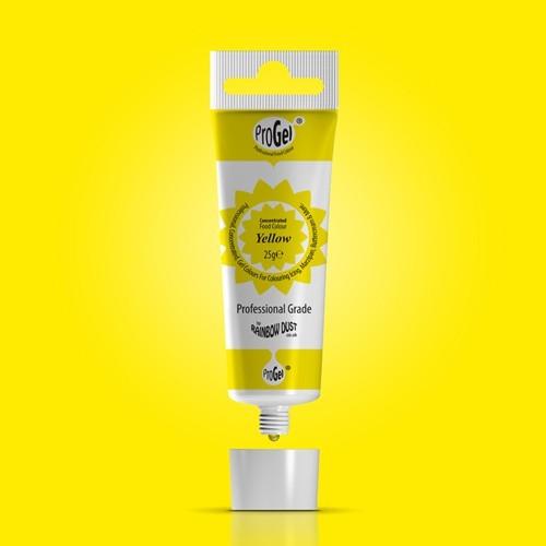 RD ProGel® - gelová farba - žltá - Yellow