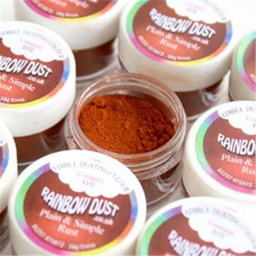Puderfarbe Rainbow dust - Braun - Rust