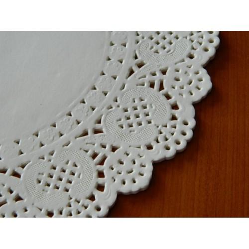 Papierové čipky pod tortu 21,5cm