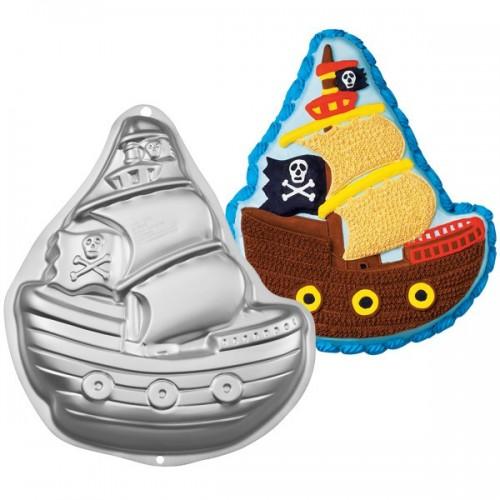 Forma na pečenie - pirátska loď