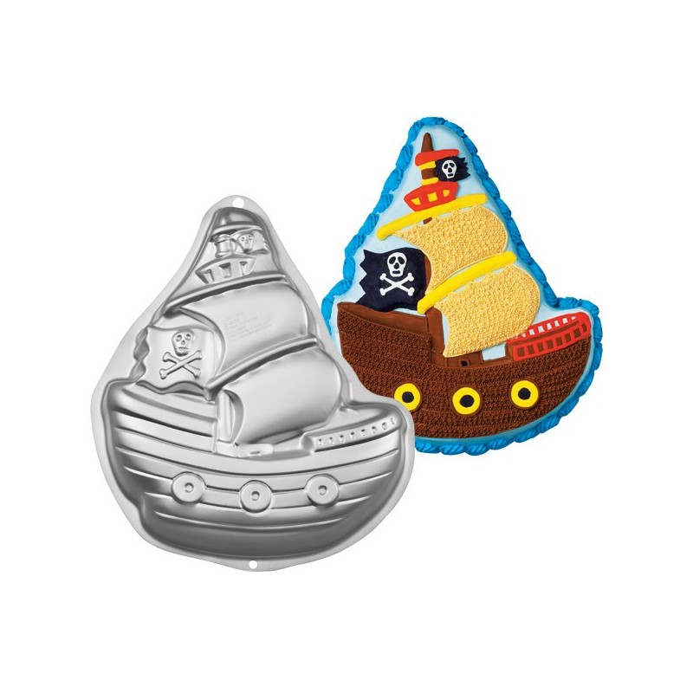 Backform -  Piratenschiff