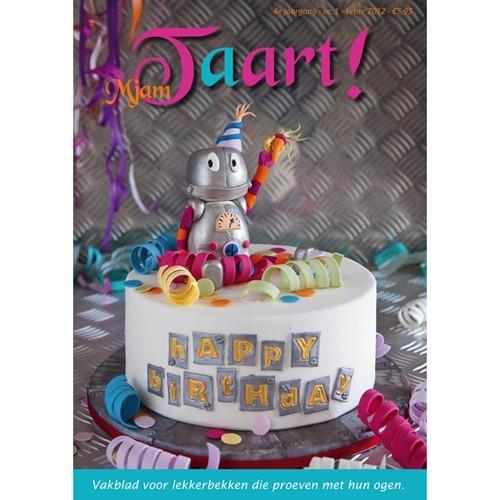 MjamTaart! Dutch Cake Decoration Magazine Spring 2012