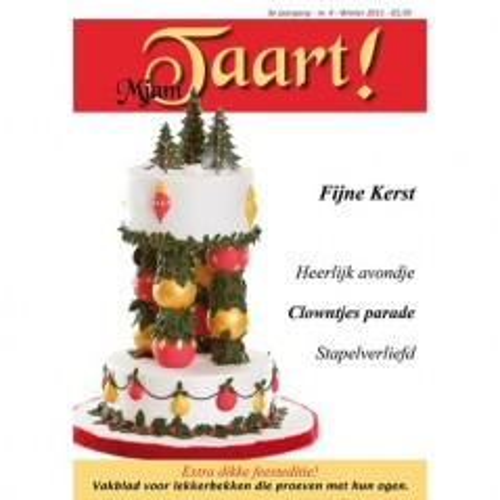 MjamTaart! Dutch Cake Decoration Magazine Winter 2011