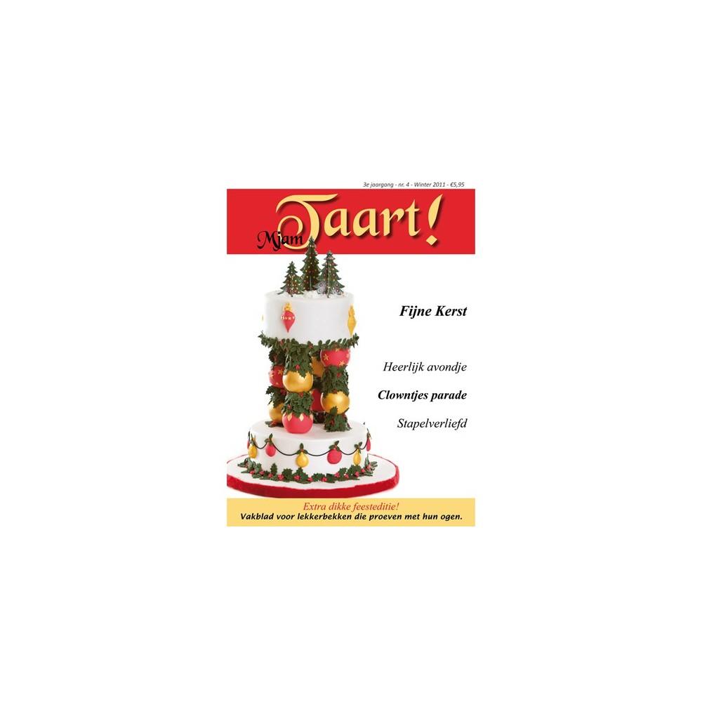 MjamTaart! Tortendecoratie Magazine Winter 2011