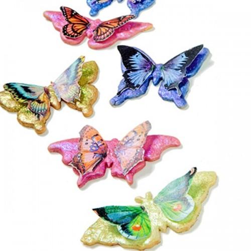 Sada vykrajovátek - Motýlci - květina