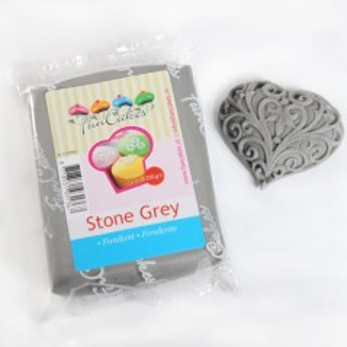FunCakes potahový fondán - sivý kameň 250g