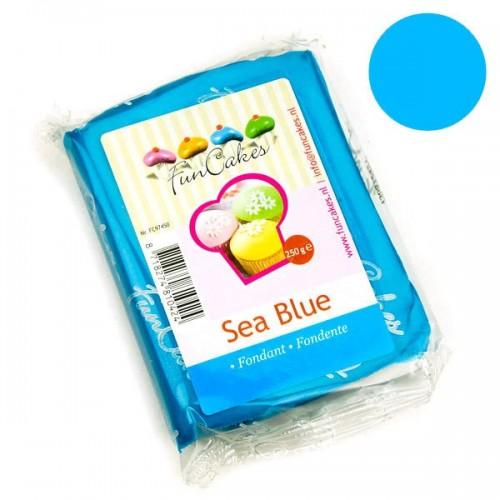 FunCakes potahový fondán Sea Blue - mořská modrá - 250g
