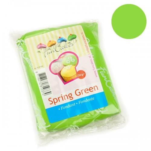 FunCakes potahový fondán Spring Green - zelená - 250g