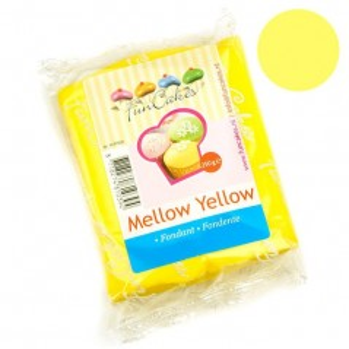 FunCakes Rolfondant Mellow Yellow -250gr
