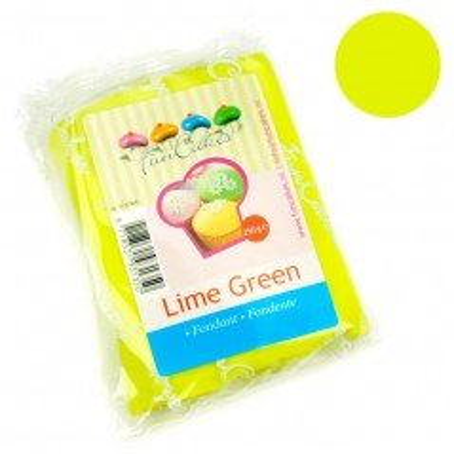 FunCakes potahový fondán Lime Green  - limetková zelená - 250g