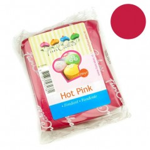 FunCakes potahový fondán - Hot Pink - horúca ružová  250g