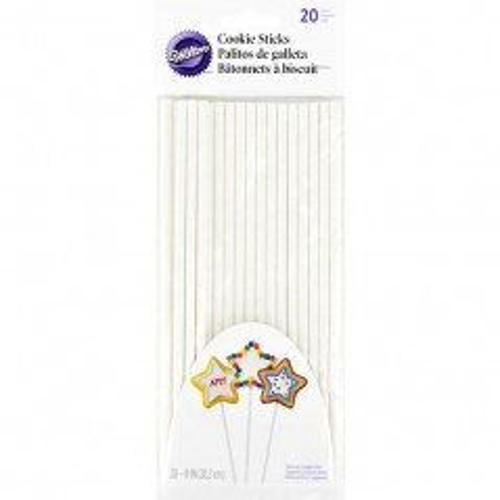 Wilton Lollipop Sticks 20cm, pk/25
