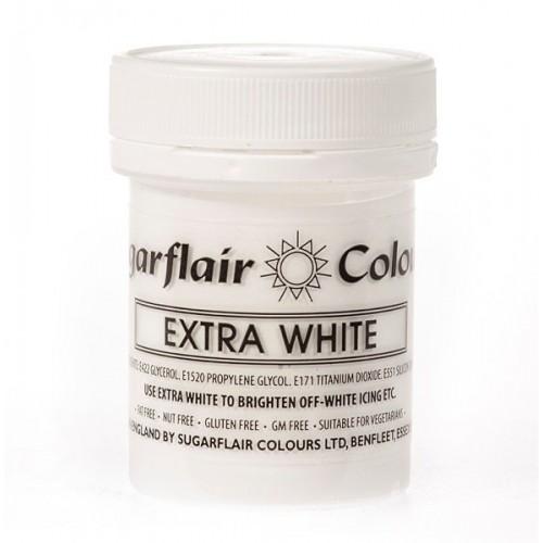 Sugarlair gelová barva - extra biela