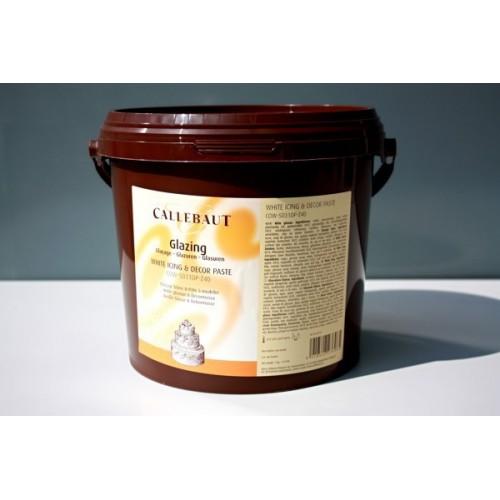 Callebaut Fondant White Icing - Glazing - 7kg + podložka