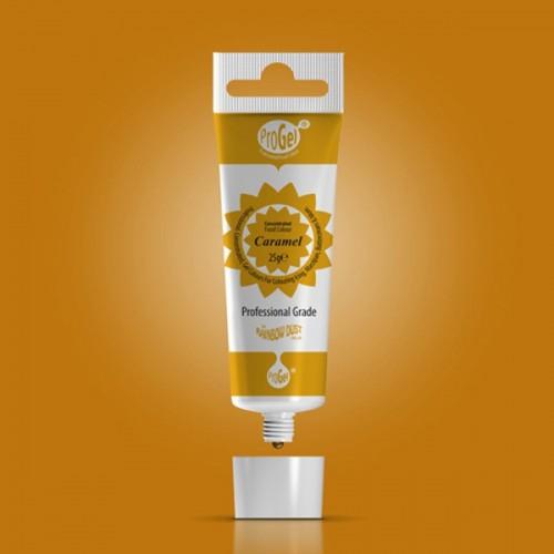 RD ProGel® - gelová farba - caramelová - Caramel -25g
