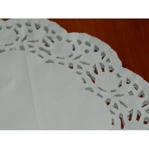 Papierové čipky pod tortu 40cm - 10ks
