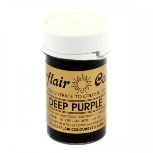 Sugarlair gelová farva - tmavá purpurová - Spectral Deep Purple - 25g