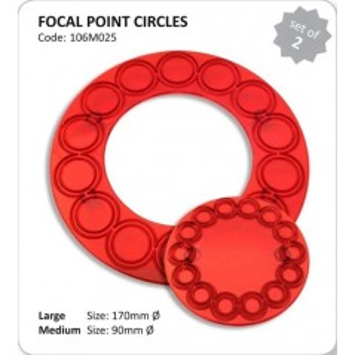 JEM - patchwork - kruhy malý / veľký