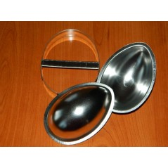 Set tipping Mold - large hollow eggs