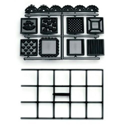 Patchwork Cutters - patchworková deka - štvorca