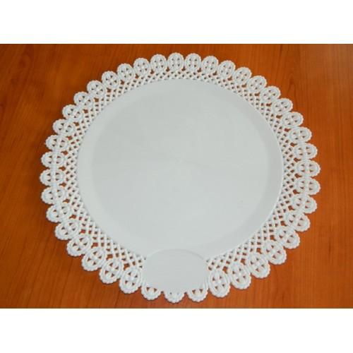 Plastic Cake Board - round 38,5cm