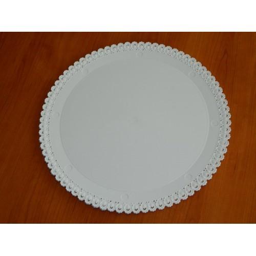 Alcas - Umělohmotný tác pod dort - kulatý 28cm