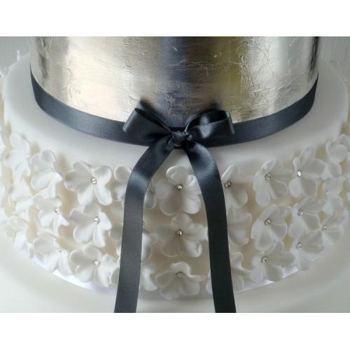 Sugarflair Silver Leaf - stříbrný plátek