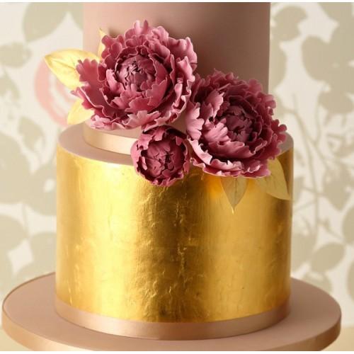 Sugarflair Gold Leaf - zlatý lístek - 24  karátů