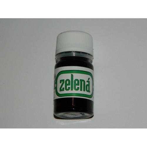 Tekutá potravinárska farba - zelená - 10ml