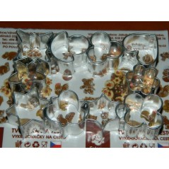 Cookie Cutter Set - mini 10 pcs