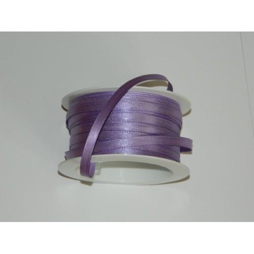 Satin ribbon - violet light 20m / 5 mm
