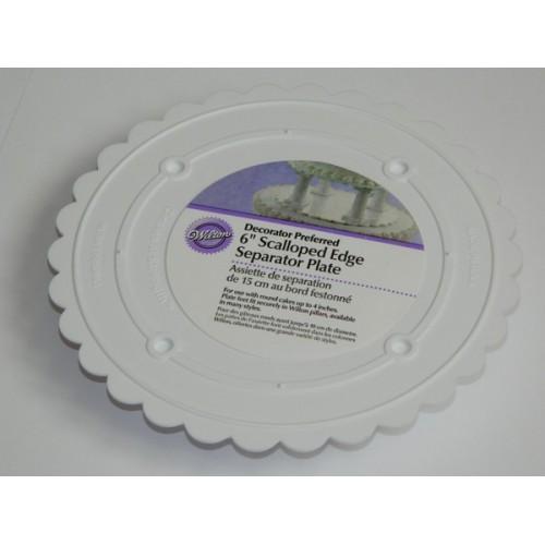 Wilton - separačné plato okrúhle - 15cm
