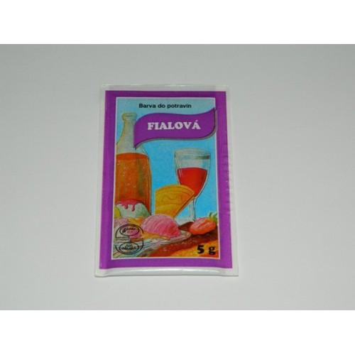 Prášková farba - Fialová - 5g