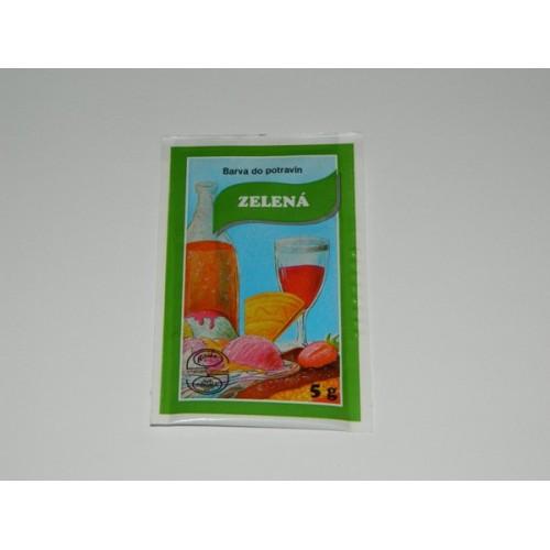 Powder color - Green - 5 g