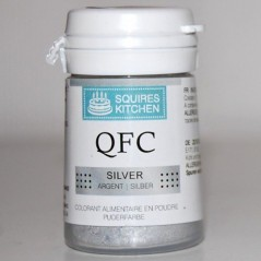 Squires Kitchen Edible Food Dust - Lustre Silver 5,5g