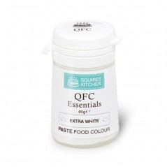 Squires Kitchen Edible Food Dust - Extra white 20g