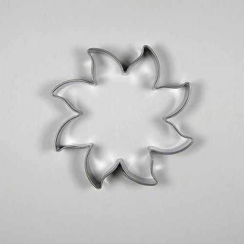 Nerezové vykrajovátko - slniečko malé 4cm