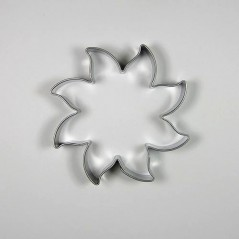 Stainless steel cutter - large sun 7cm