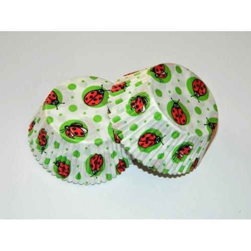 Baking Cups Ladybug - 40pcs