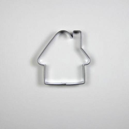 Nerezové vykrajovátko - zasnežená chalúpka