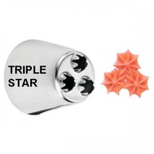 Wilton trezírovací špička - viacotvorové - 3 hviezdy - č.2010