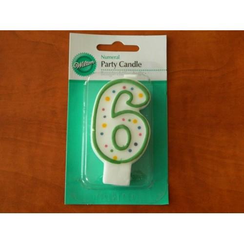 Wilton dortová svíčka - 6