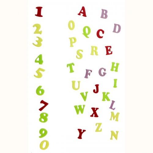 FMM Velká abeceda a čísla - Art Deco