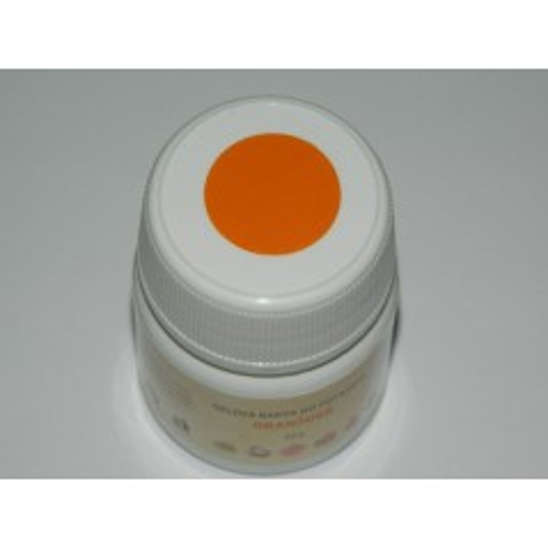 Gelová farba do potravín - oranžová - 50g