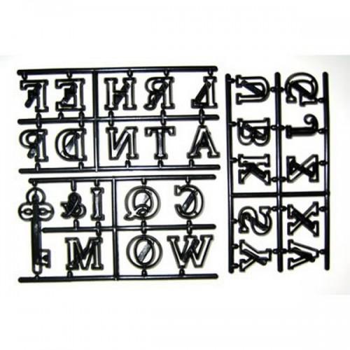 Patchwork Cutters - veľká abeceda + kľúč