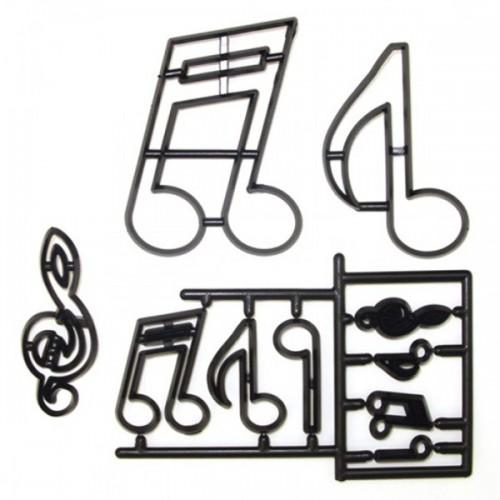 Patchwork Cutters - noty a husľový kľúč
