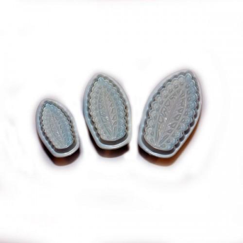 Vypichovač - filigránový list - 3ks