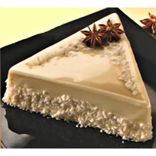 MIRALL poleva s vysokým leskom - BIELA  ČOKOLÁDA - cioccolato bianco - 250g