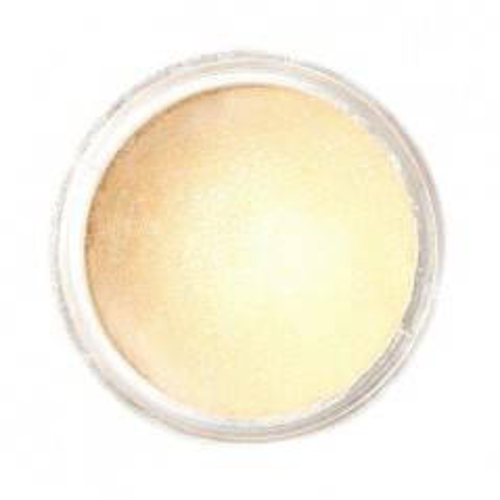 Jedlá prachová perleťová farba Fractal - Champagne Gold, Aranysárga (3 g)