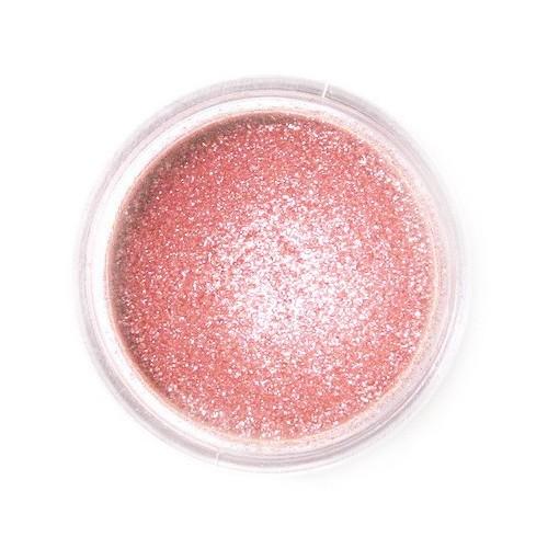 Jedlá prachová perleťová farba Fractal - Sparkling Rose, Szikrázó rózsaszín (3,5 g)